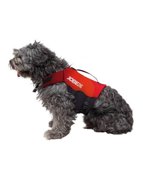 Jobe - Gilet per cani rosso